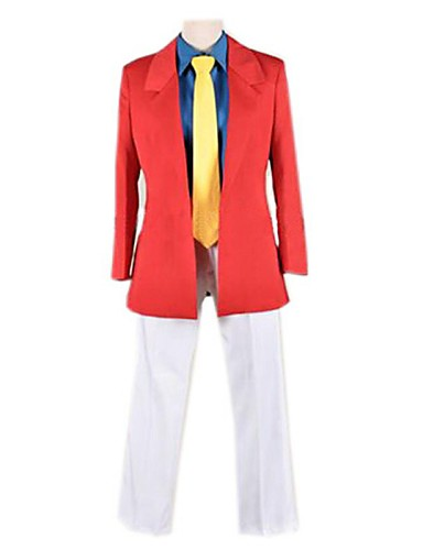 cheap Anime Costumes-Inspired by Cosplay Cosplay Anime Cosplay Costumes Japanese Cosplay Suits Coat Shirt Pants For Men's / Tie / Tie