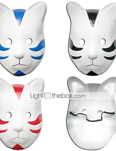 povoljno Anime cosplay-Mask Inspirirana Naruto Cosplay Anime Cosplay Pribor Mask PVC Muškarci Žene vruć Noć vještica