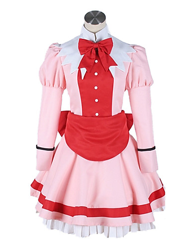 povoljno Anime cosplay-Inspirirana Crna Butler Elizabeta Anime Cosplay nošnje Japanski Cosplay Suits Kolaž Kravata / Haljina Za Žene