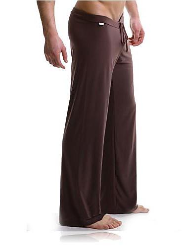 voordelige Herenondergoed & Zwemkleding-Heren Overige Sexy Lange Johns Effen Standaard Medium taille