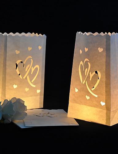 preiswerte Unter €7-Kerzen & Kerzenständer Fasergemisch Hochzeits-Dekorationen Hochzeitsfeier Garten / Klassisch Ganzjährig