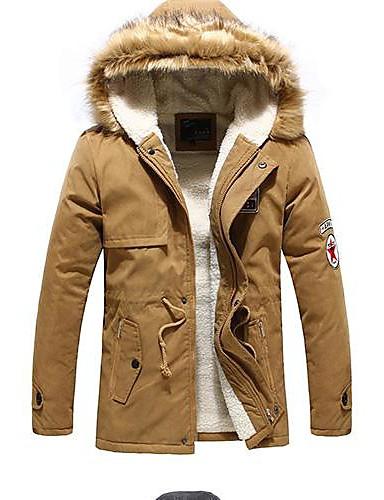 férfi meleg szőrme gallér kapucnis kabát 1940615 2019 –  20.89 93fbeffebb