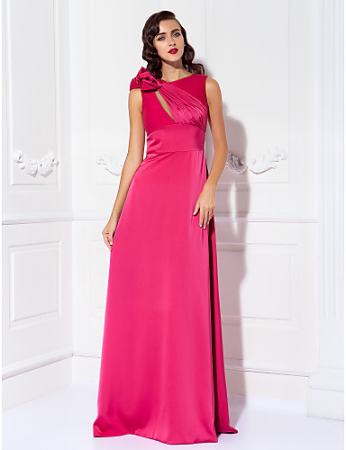 0fc071091c3 TS Couture® Prom   Formal Evening   Military Ball Dress - Elegant Plus Size    Petite Sheath   Column Scoop Floor-length Satin Chiffon 1114951 2019 –   79.99