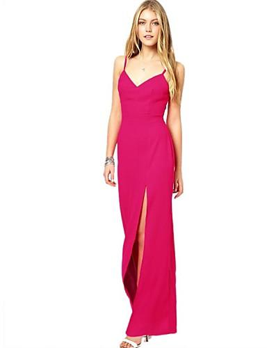 6150d99bb850 ροζ slim maxi φόρεμα των γυναικών 2118681 2019 –  22.99