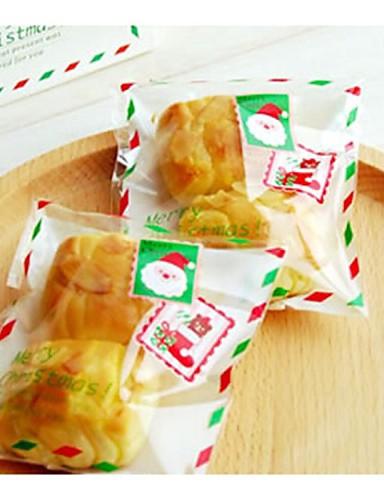 preiswerte Weihnachts Geschenke-10 Stücke father christmas Umschlag Süßigkeitstasche