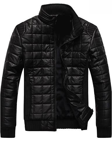 78b4e8caf56 ifeymilan pánská pu bavlna kauzální a sametový límec kabátu Kožené oděvy  bundy 2341087 2018 –  34.49