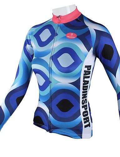 povoljno Biciklističke majice-ILPALADINO Žene Dugih rukava Biciklistička majica Dungi Veći konfekcijski brojevi Bicikl Biciklistička majica Majice Brdski biciklizam biciklom na cesti Prozračnost Quick dry Sportski 100% poliester