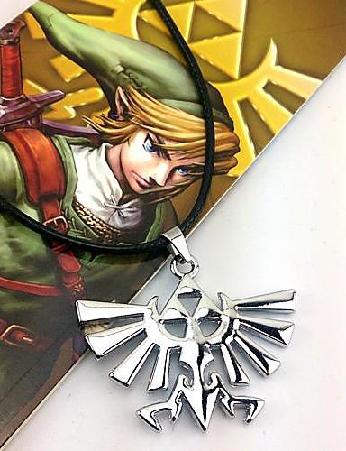 povoljno Anime cosplay-Jewelry Inspirirana The Legend of Zelda Cosplay Anime / Video Igre Cosplay Pribor Ogrlice Legura Muškarci Halloween kostime