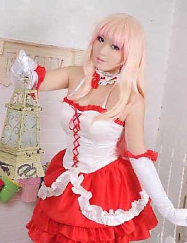 povoljno Maske i kostimi-Inspirirana Cosplay Sheryl Nome Anime Cosplay nošnje Japanski Cosplay Suits Haljina / Rukavice / More Accessories Za Žene