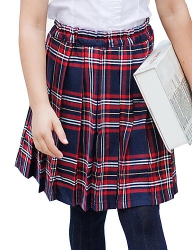 Školní uniformy dívčí červené a modré Tattersall elastický pas skládaná  sukně 2238776 2019 –  26.24 916facc015
