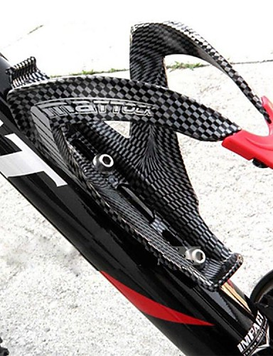 cheap 8~11-Cycling Related - Excellent Value For Money-Bike Water Bottle Cage Carbon Fiber Lightweight For Cycling Bicycle Road Bike Mountain Bike MTB Carbon Fiber Full Carbon Black