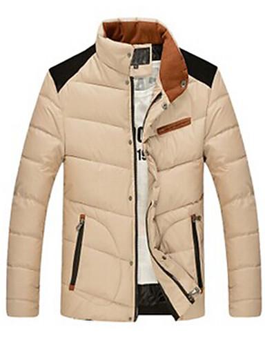 8da2427dde7 WAN pánská komfortní stojan na krk dlouhý rukáv plášť bavlněný kabát  2444799 2019 –  28.24