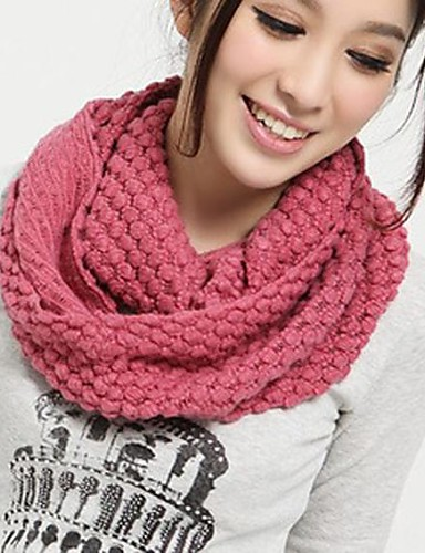 cheap Winter Accessories-Women's Basic Infinity Scarf - Solid Colored / Winter