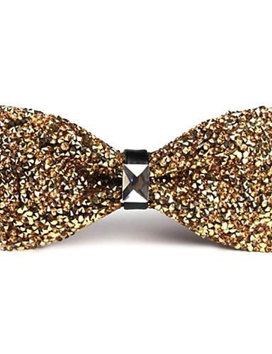זול עניבות ועניבות פרפר לגברים-עניבת פפיון - אחיד מסיבה / עבודה / בסיסי יוניסקס