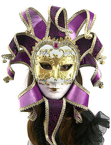 preiswerte Cosplay & Kostüme-Maske Venezianische Maske Karnevalsmaske Inspiriert von Venezianisch Halloween Karneval Maskerade Erwachsene Herrn Damen