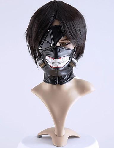 povoljno Anime cosplay dodaci-Mask Inspirirana Tokio Ghoul Cosplay Anime Cosplay Pribor Mask Muškarci Žene Noć vještica