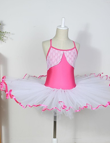 cheap Christmas Deals-Kids' Dancewear / Ballet Dresses Cotton / Spandex / Tulle Sleeveless