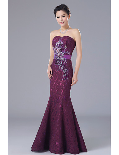 Vestidos de gala corte sirena 2019
