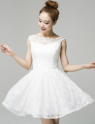Vestidos de fiesta en blanco 2018