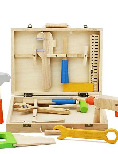 levne Nářadí na hraní-Nářadí na hraní Krabice na nářadí kompatibilní Legoing Bezpečnost Klasické Chlapecké Hračky Dárek