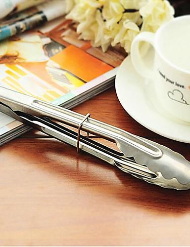 preiswerte Promotion-Dish Clip Pinza Pinzas Einzeln zum Metal Draussen Wandern Draußen Picknick Weiß