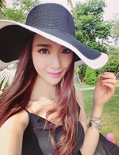 Ženy Retro Neformální Léto Sláma Slaměný klobouk 2793848 2019 –  14.69 b2fe4dce60