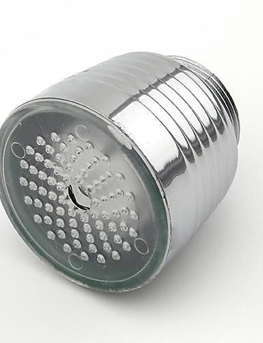 preiswerte Duschkopf LED-Beleuchtung-leuchtenden glow-up-led-wasserhahn wasserhahn duschkopf wasser düse kopf licht bad küchenarmaturen