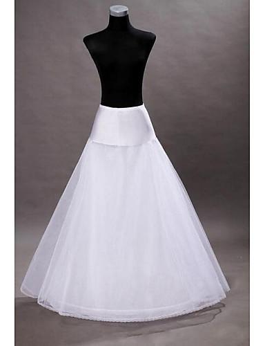preiswerte Hochzeits Petticoats-Hochzeit rutscht bodenlangen a-line Slip mit Hochzeitsaccessoires