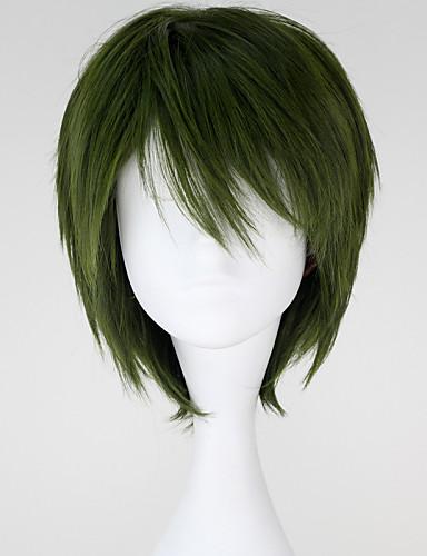 povoljno Maske i kostimi-Cosplay Midorima Shintaro Cosplay Wigs Muškarci 12 inch Otporna na toplinu vlakna Anime