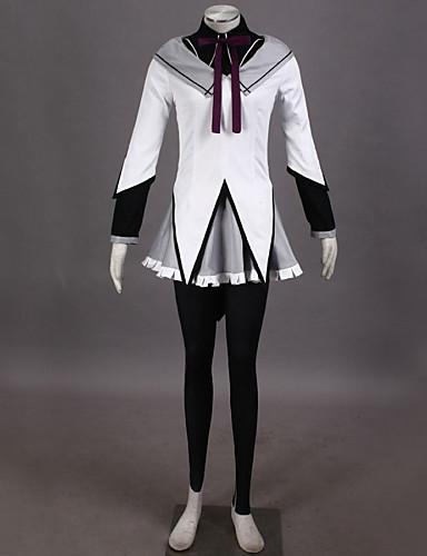 povoljno Maske i kostimi-Inspirirana Puella Magi Madoka Magica Homura Akemi Video igra Cosplay nošnje Cosplay Suits Kolaž Bluza Top Suknja Kostimi