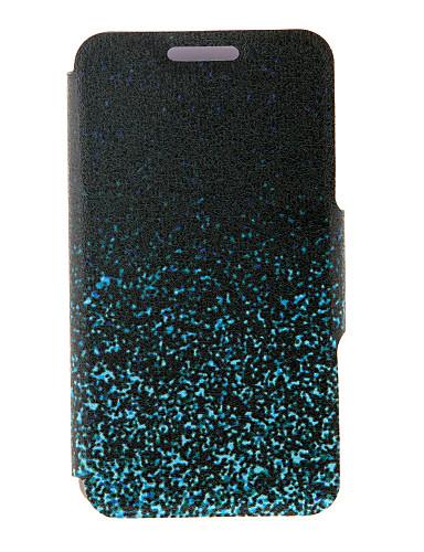 fodral Till Samsung Galaxy A8 / A7 / A5 Korthållare / med stativ / Lucka Fodral Färggradient PU läder