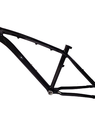 "cheap Bike Frames-Neasty Brand MB-NT02 Full Carbon Fiber MTB Frame 3K Glossy Carbon Black 26er Frame 15""/17"""