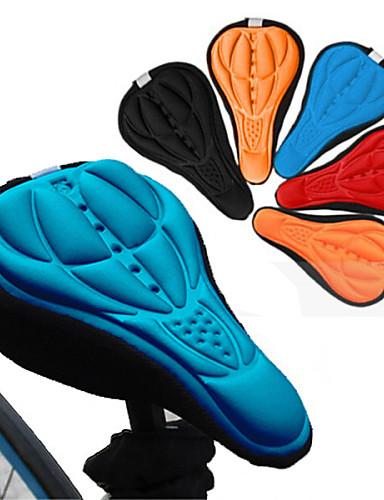 voordelige Fietsen-Fietszadeldek / Kussen Ademend Comfort 3D Pad Siliconen silica Gel Wielrennen Racefiets Mountain Bike Zwart Oranje Rood