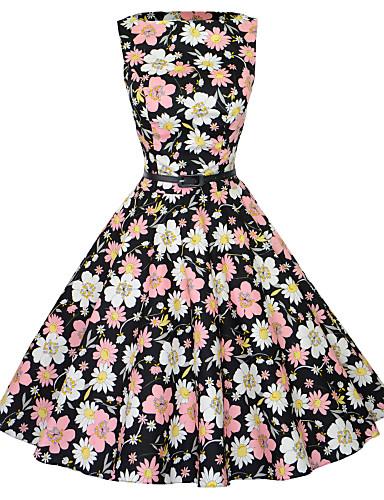 98fd50c4f41d  50 Maggie Τανγκ γυναικών εκλεκτής ποιότητας floral rockabilly Hepburn pinup  μαρούλι κόμμα swing φόρεμα 533 3354628 2018 –  32.99