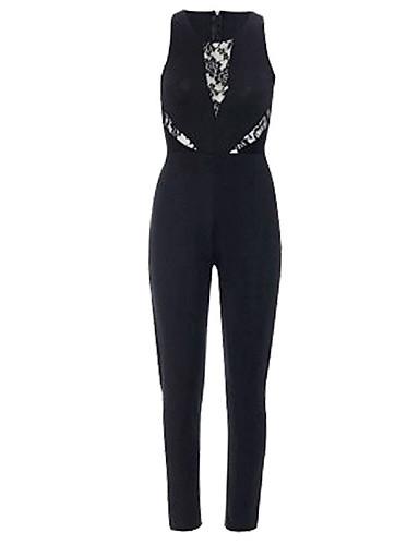 f60e770532d Women s Party Black Jumpsuit
