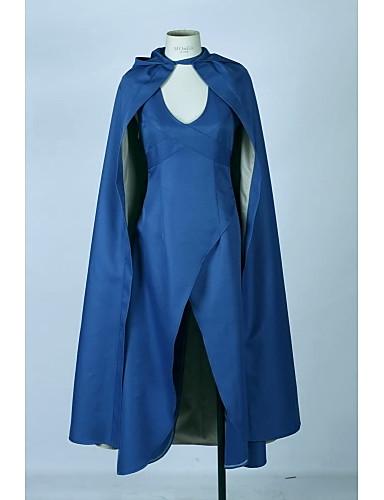 povoljno Maske i kostimi-Igra prijestolja Daenerys Targaryen Žene Filmski Cosplay Suknja Plašt