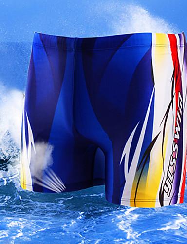 levne Pánské prádlo a plavky-Pánské Nylon/Polyester Šortky do vody