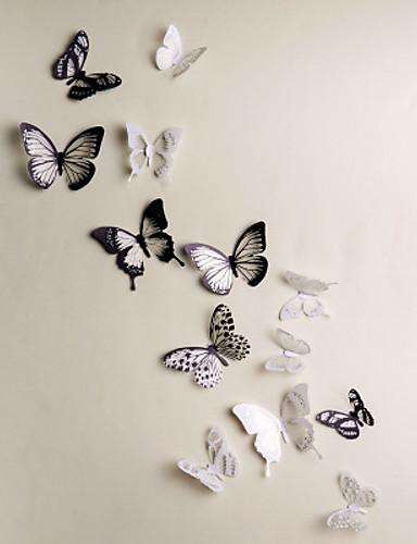 preiswerte Tier Wandsticker-Tiere 3D Wand-Sticker 3D Wand Sticker Dekorative Wand Sticker, Vinyl Haus Dekoration Wandtattoo Wand