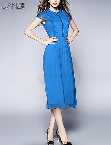 ea0ec68a11f Women s Solid Blue Red Black Dress