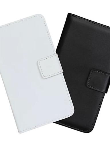 fodral Till Samsung Galaxy Note Edge Plånbok / Korthållare / med stativ Fodral Enfärgad PU läder