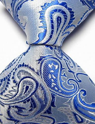 preiswerte Krawatten & Fliegen-Herrn Party / Büro / Grundlegend Hals-Binder - Druck Paisley-Muster