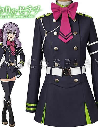 povoljno Maske i kostimi-Inspirirana Serafin od kraja Hiiragi Tsukasa Anime Cosplay nošnje Japanski Cosplay Suits Top / Suknja / Pojas Za Muškarci / Žene