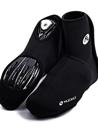 povoljno Biciklizam-Nuckily Odrasli Prekrivači za biciklističku obuću Vodootporno Prozračnost Quick dry Biciklizam / Bicikl Crn Muškarci Tenisice za biciklizam