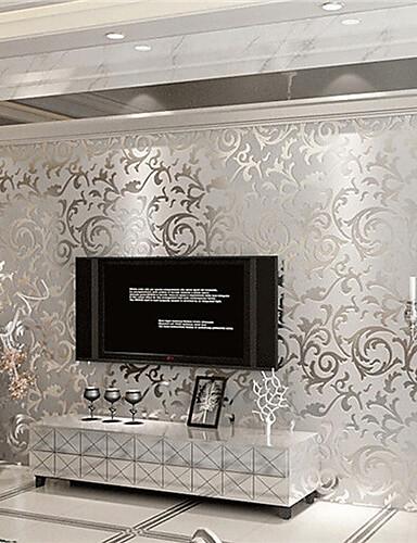 billige Tapeter-Art Deco Hjem Dekor Moderne Tapetsering, Ikke vævet papir Materiale selvklebende nødvendig bakgrunns, Tapet