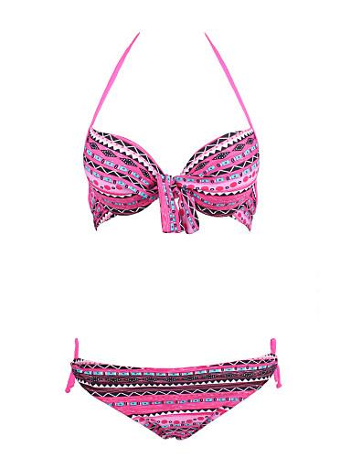 47b3b09b4dd98 Women s Boho Bohemian Style Ruffle Fringle Colorful Push Up Swimwear  4805704 2019 –  18.89