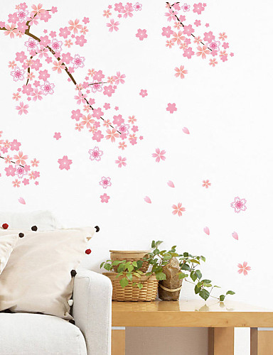 preiswerte Landschafts Wand Sticker-Landschaft Romantik Mode Formen Blumen Transport Fantasie Botanisch Cartoon Design Feiertage Wand-Sticker Flugzeug-Wand Sticker