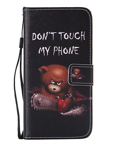 fodral Till Samsung Galaxy S7 edge / S7 Plånbok / Korthållare / med stativ Fodral Tecknat PU läder
