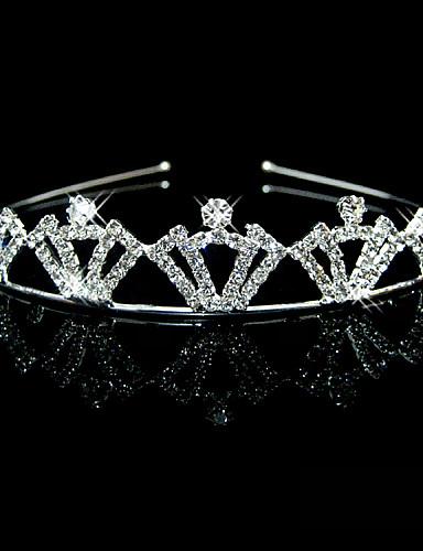 preiswerte Stirnbänder-Strass Stirnbänder / Kopfbedeckung mit Blumig 1pc Hochzeit / Besondere Anlässe Kopfschmuck
