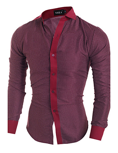 Newly Mens Boys Plaid Cotton Plaids /& Checks Shirt Long Sleeve Top Size M-2XL