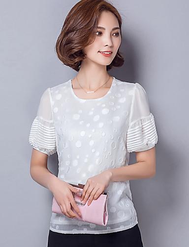 332f41b5be4d Γυναικεία Μπλούζα Καθημερινά Απλό   Κομψό στυλ street Πουά ...